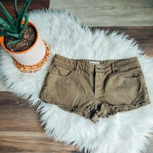 Roxy embroidered shorts